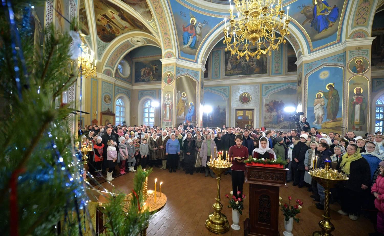 ночная литургия на новый год